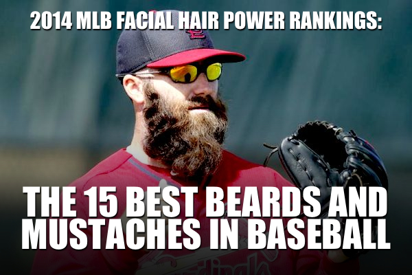 best beards mustaches mlb 2014