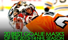 20 Best Goalie Masks of the 2013-14 NHL Season