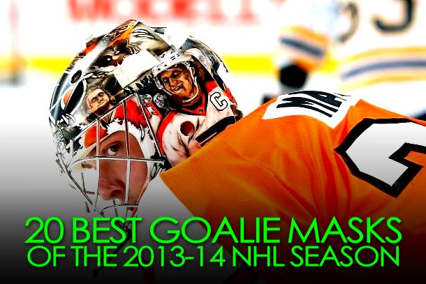 best goalie masks 2013-14 nhl season