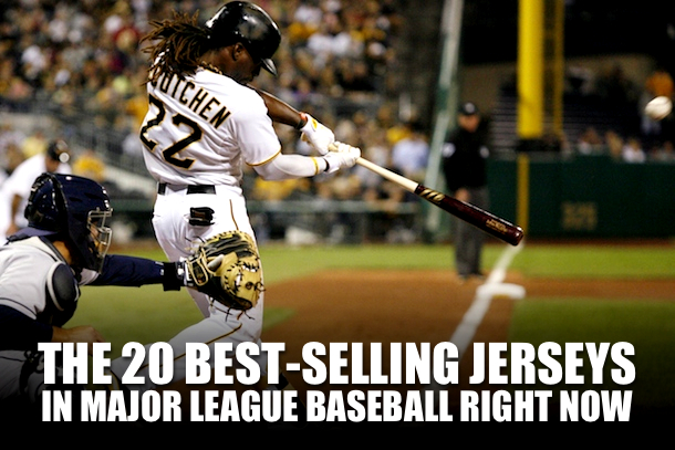 best-selling-jerseys-mlb-baseball