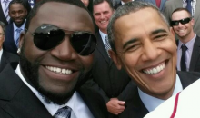 David Ortiz Live Tweeted the Red Sox's Visit to the White House and Got a Pretty Awesome Selfie with the Commander-in-Chief (Pics)