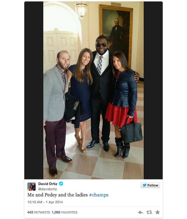big papi davis ortiz white house visit 2