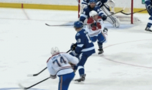 Not One But Two NHL Players Took Pucks to the Head Last Night (GIFs)