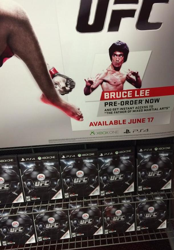 bruce lee ufc ea sports video game