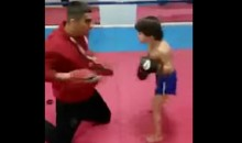 You Wouldn't Stand a Chance Against This Child Kickboxer (Video)