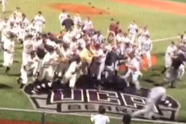 college baseball brawl