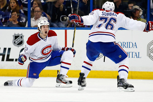 dale weise overtime winner canadiens lightning 2014 stanely cup playoffs