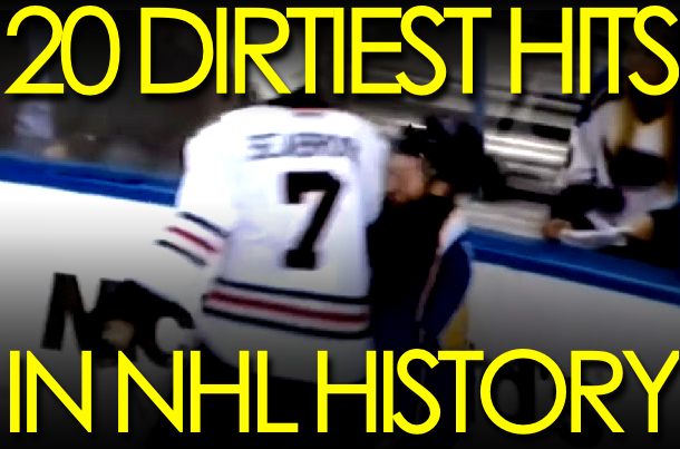 dirtiest hits nhl history (nhl dirty hits)