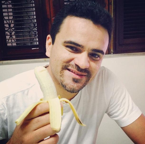 eating banana instagram we are all monkeys meme 4
