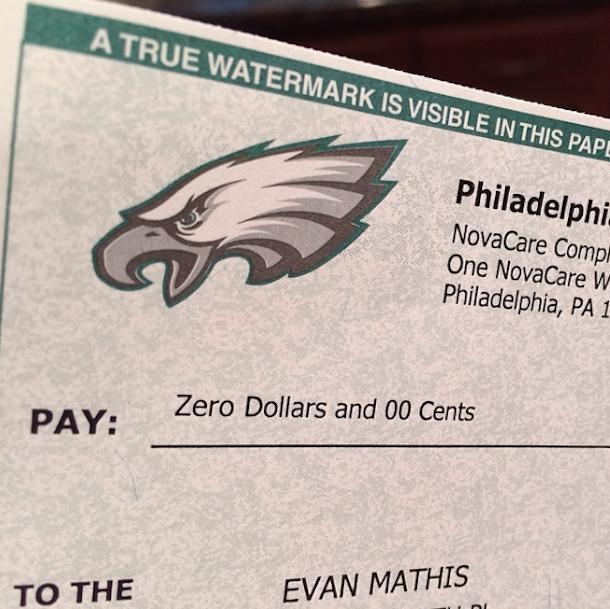 evan mathis signing bonus