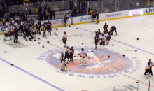 Bench-Clearing Brawl Unfolds at NYPD vs. FDNY Charity Hockey Game (Videos)