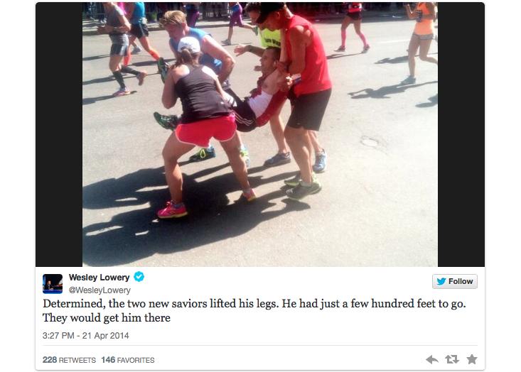 feel-good boston marathon finish 3