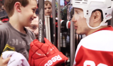 The Look On This Kid's Face When Jordin Tootoo Gives Him His Stick Will Warm Your Cold, Cynical Heart (Video)