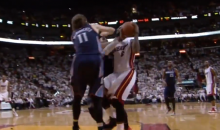 Josh McRoberts Delivered a Flying Elbow to LeBron James' Throat and It Wasn't a Flagrant Foul (Video)