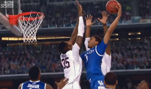 Kentucky May Have Lost, But They'll Always Have This Monster Dunk from James Young (GIF)