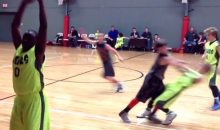 Flopping Youth Basketball Player Obviously Watches Too Much NBA (Video)