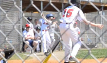 Little Leaguer Gets Beaned By Foul Ball While Taking Swings In The On Deck Circle (Video)