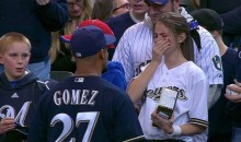 Emotional Brewers Fan Cries After Meeting Carlos Gomez (Video)
