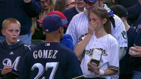 Fan Meets Carlos Gomez