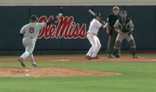Worst Intentional Walk Ever Turns Into Walk-Off Home Run for Ole Miss (Video + GIF)