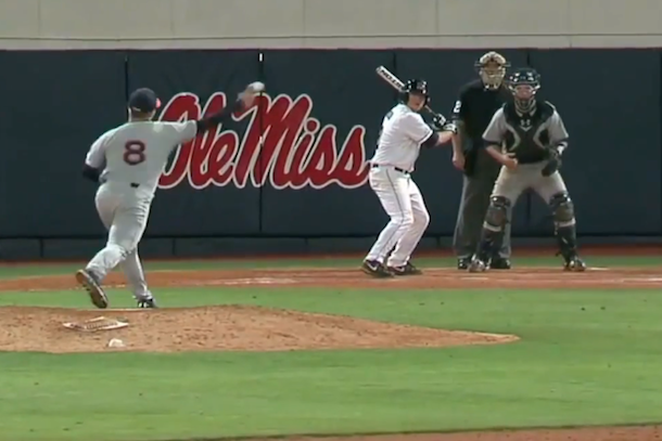 ole miss intentional walk off home run