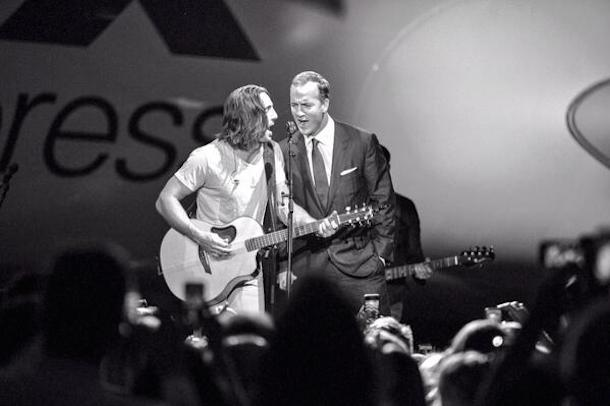peyton manning singing johnny cash with jake owen