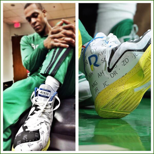 rajon rondo boston strong shoes