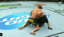 Sam Stout Gets Knocked Out at TUF Nations Finale, Continues to Fight Referee (GIF)