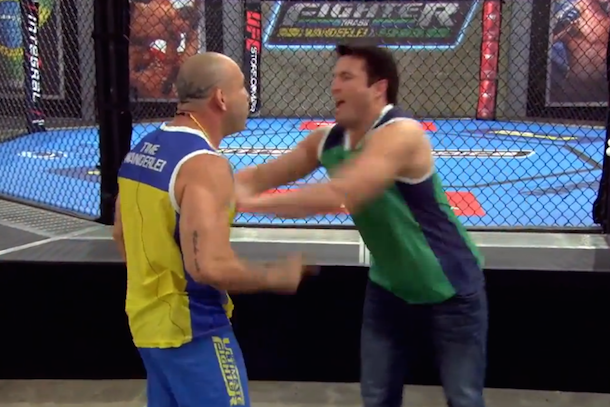 sonnen silva fight TUF brazil