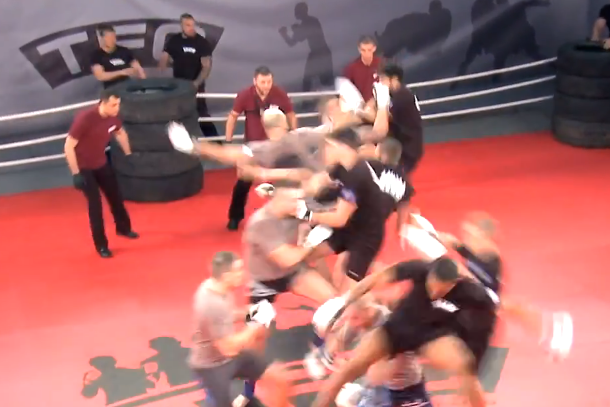 team fighting championship (group mma fight)