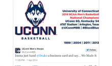 UConn Huskies Troll Drake on Twitter After Beating Kentucky (Pics)
