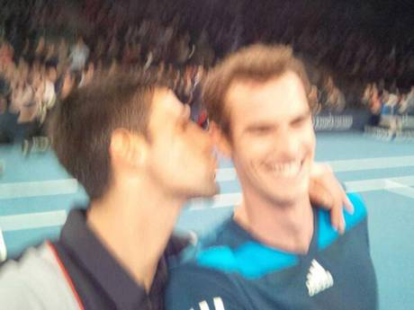 10 djokovic murray selfie madison square garden exhibition march 14 - best sports selfies