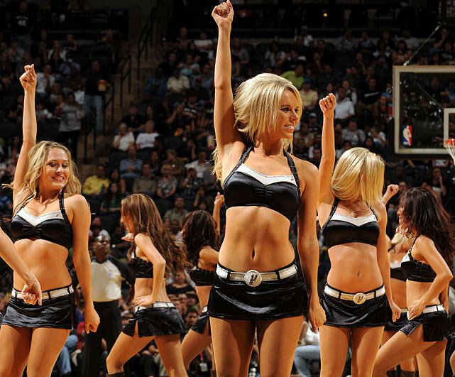 3 san antonio spurs cheerleaders - hot women of san antonio (charles barkley)