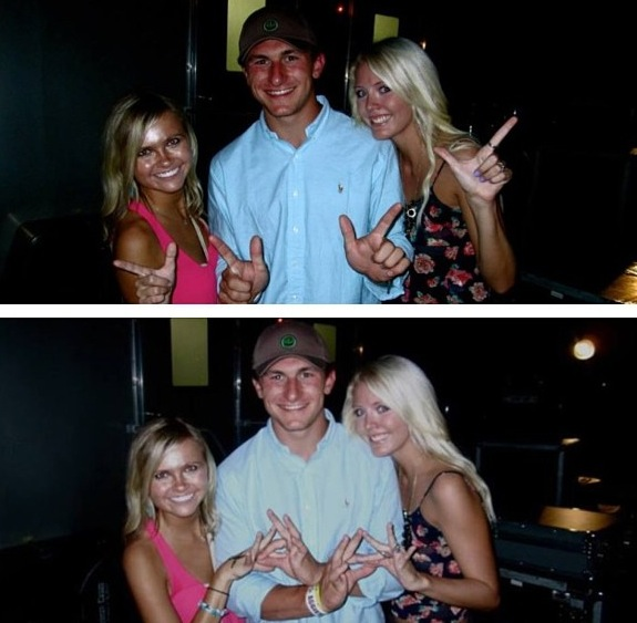 9 johnny manziel with hot blondes kels_jweath