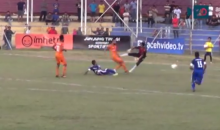 Indonesian Soccer Player Dies From Vicious Tackle by Opposing Keeper (Video)