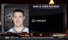 NBA on TNT Uses Great Graphic to Explain Who Aron Baynes Is (Pic)