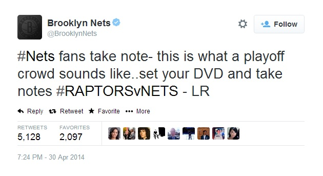 Brooklyn Nets Twitter call out fans