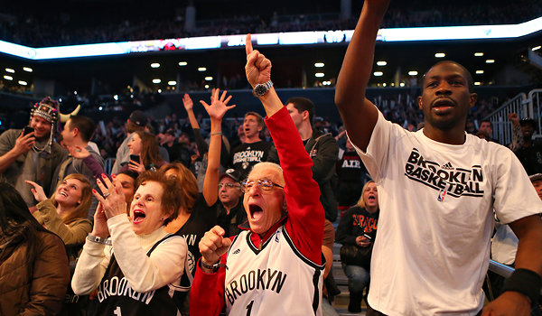 Brooklyn Nets fans