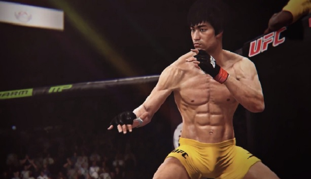 Bruce Lee UFC Video Game