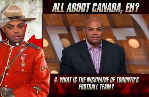 Charles Barkley Canada Quiz