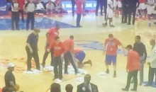 Beer Thrown at Refs and on Dates at Last Night's Clippers Game