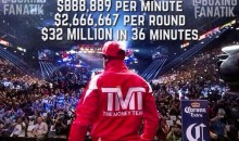 Floyd Mayweather Brags About $32M Payout On Instagram