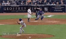 Mets Pitcher Jenrry Mejia Moonwalks Off the Mound Following Strikeout (GIF)