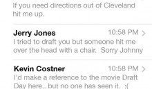 Johnny Manziel text inbox after draft………..