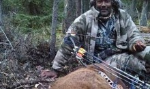 Karl Malone Spends His Post-NBA Life Bowhunting Large Bears, Apparently (Pic)