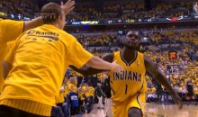 With 0.1 Seconds Left in the First Half, Lance Stephenson Scored on an Inbound Pass (Video)