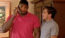 Watch Michael Sam's Emotional Moment After Being Drafted by the St. Louis Rams (Video)