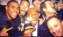 Mike Tyson and Tom Brady Appear in Preakness Selfie
