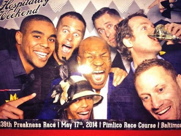 Mike Tyson Preakness Selfie