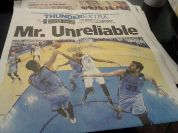 Mr. Unreliable Headline